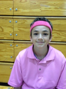 Blazers Players Wearing Pink